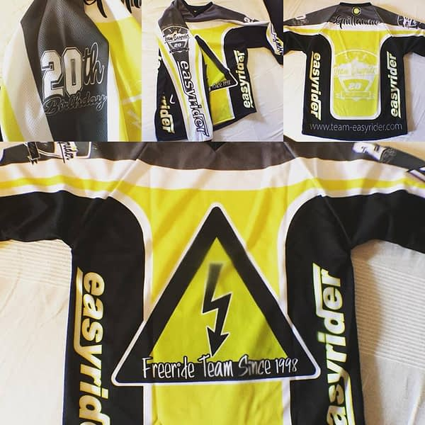 maillot Team Easyrider 20 ans ML